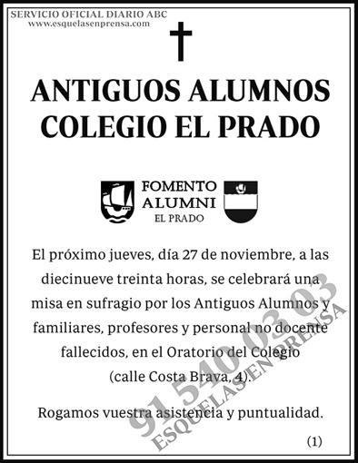 Antiguos Alumnos Colegio El Prado